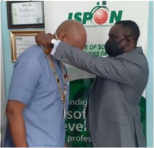 Chinenye Mba-Uzoukwu Emerges ISPON President