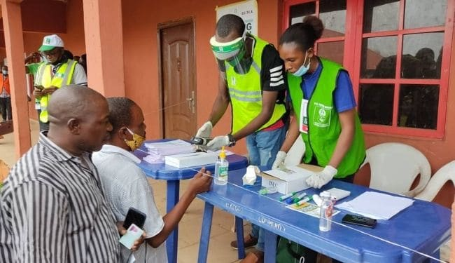 Edo Guber Election 2020: Voters Troop Out As Voting Begins….. See Pictures below
