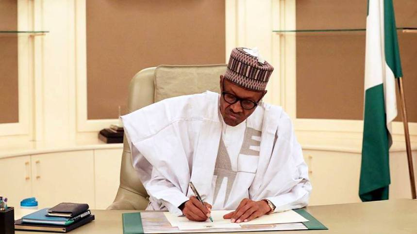 Buhari Signs Police Bill 2020 Into Law