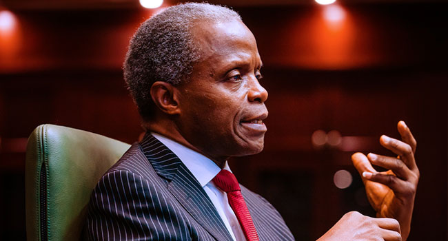 #ENDSARS: Osinbajo Apologises To Nigerians As Protests Against Police Brutality Continues