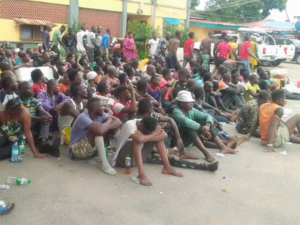 Lagos Security; Police Raids Black Spots, Arrest 720