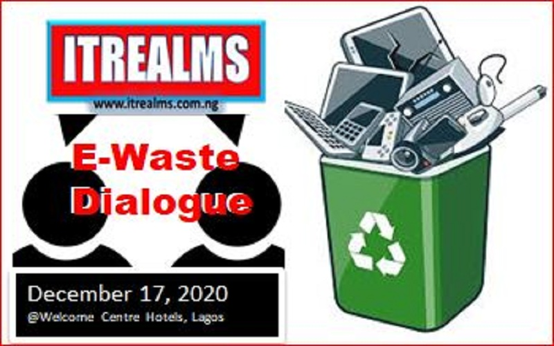 ITREALMS' e-Waste Dialogue 2020 Holds December 17