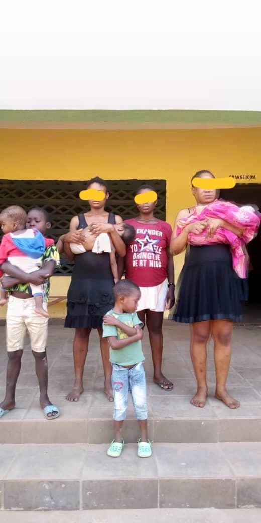 Child Traffickers Nabbed In Anambra State