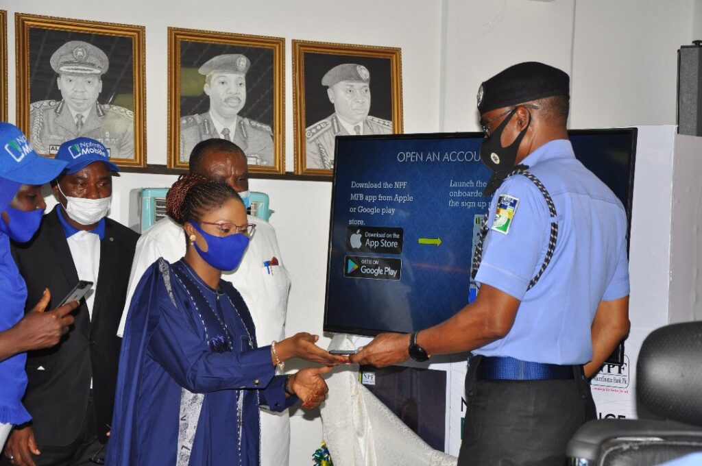 IGP Moves To Improve Personnel Financial Welfare Services – Launches NPF Microfinance Bank E-Banking Technology/Mobile App