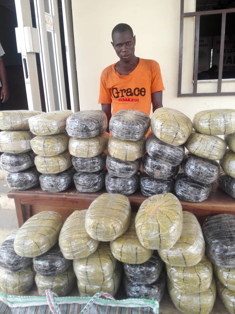 Bleak Easter For Most Wanted Drug Baron In Nasarawa As NDLEA Nabs Him