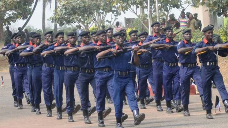 NSCDC Burst Pipeline Vandalism, Arrests Two