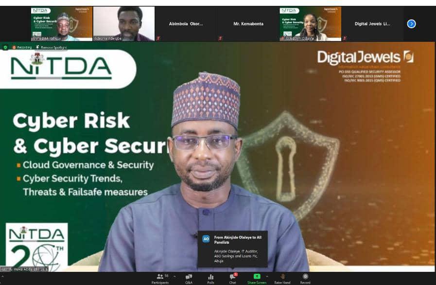 Securing The Cyber Space, Gateway To Digital Economy – DG ,NITDA