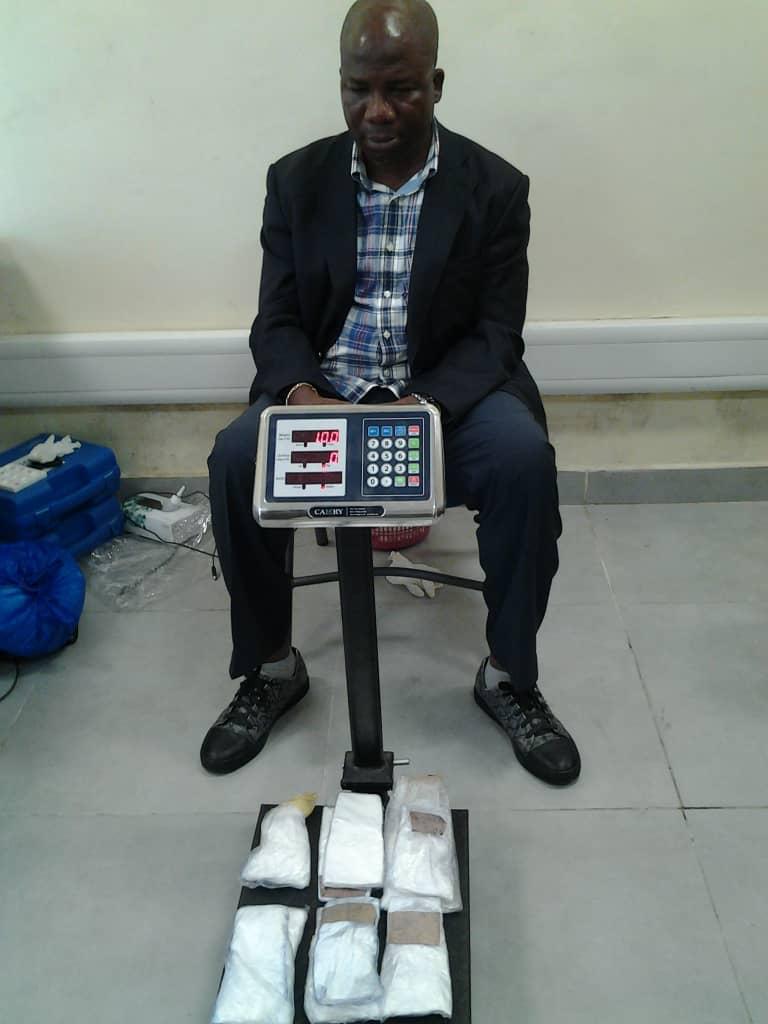 NDLEA Nabs Lagos Drug Baron, Seizes Cocaine, Millions Of Naira