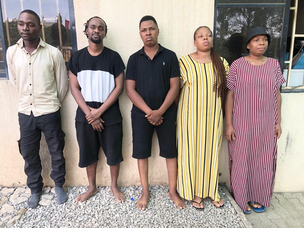 NDLEA Busts Online Drug Trafficking Cartel, Arrests 5 In Abuja