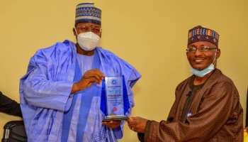 Ganduje Applauds Danbatta's Initiative  On ICT Park Development Across Nigeria