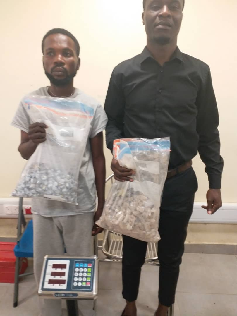 Wanted Drug Dealer Caught In Church As Another Excretes 68 Wraps Of Heroin At Lagos Airport