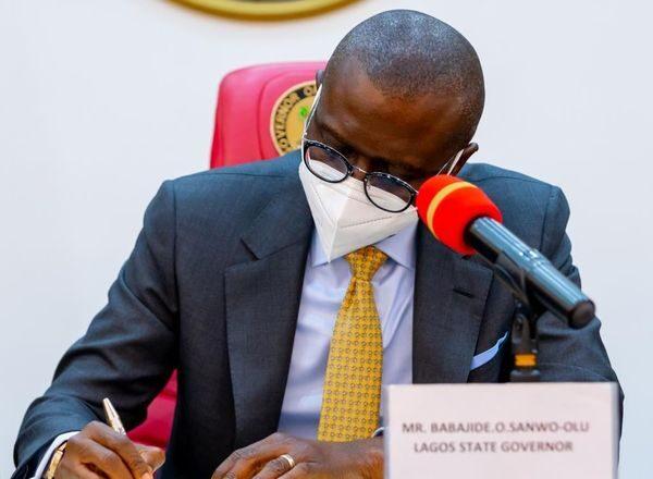BREAKING: Sanwo-Olu Signs Vat Bill Into Law