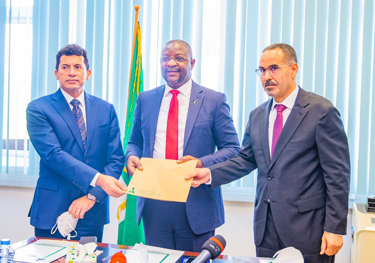 Sunday Dare, Holds Tripartite Meeting With Algerian, Egyptian Counterparts