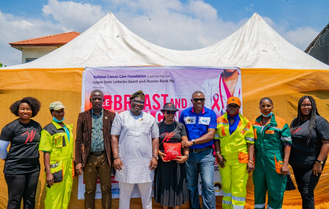 LAWMA Sweepers Get Free Breast And Cervical Cancer Screening, Treatment