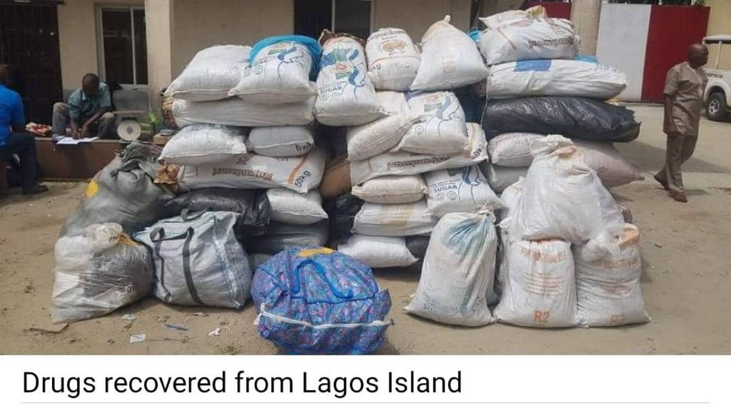 NDLEA Intercepts Fake Soldier With Drugs, 16 Walkie-Talkie Sets, Ammunition, ATM, Simcards For Bandits