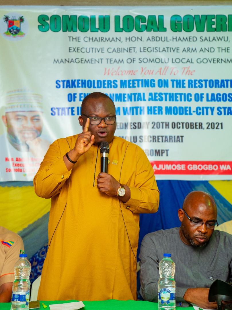 LAWMA, Shomolu LG, Agree On Re-Introduction Of Voluntary Monthly Environmental Sanitation