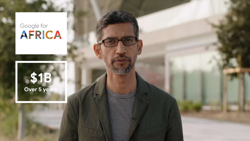 Google Announces Plan To Invest $1billion To Support Digital Transformation In Africa